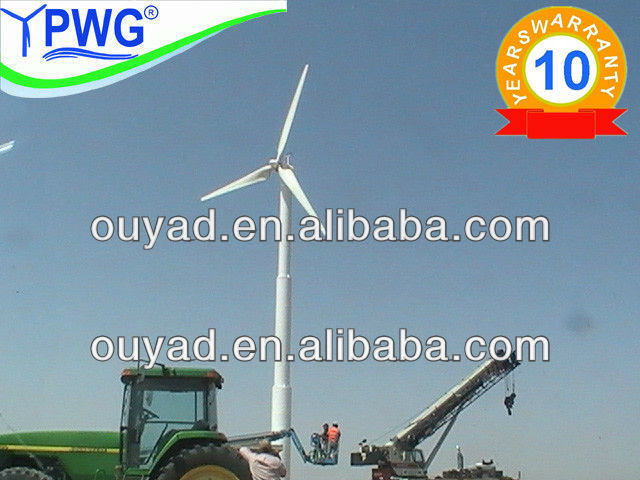 Pitch controlled high power wind turbine/wind generator 30kw for sale