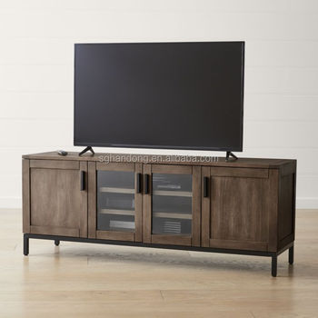 POPULAR nuevo estilo madera soporte TV y media console para sala ESTILO OCCIDENTAL