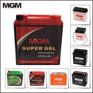 Factory motorcycle batteries,motorcycle battery mgm