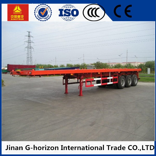 Semitrailer Platform Trailer Flatbed Semi Trailers and Other Trailers For Sale