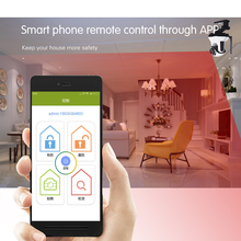 WIFI+2G/3G IOS/Android App Control HD 720p Record audio/video Home burglar alarm system