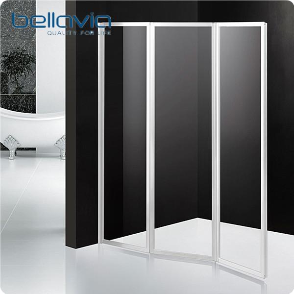 Folding Plastic Shower Screen Door 6593 - Buy Plastic Shower Screen ...