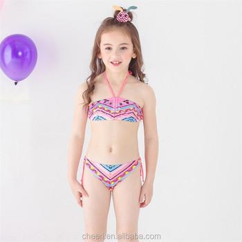 d5ffa9a36a9382 Kids bikini 2018 meisjes badmode bathing sets badmode bathing set kwastje  badpak kinderen bikini. Grotere afbeelding bekijken