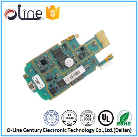 Low cost 94v0 0.8mm Immersion Gold android phone pcb