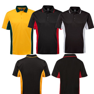 CP1701 2017 Free Sample Polo Contrast T-shirt Polo for Promotion,Sports Polo with Dri-fit mesh fabric