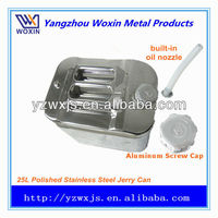 10l/20l/30l American-type polished stainless oil tank