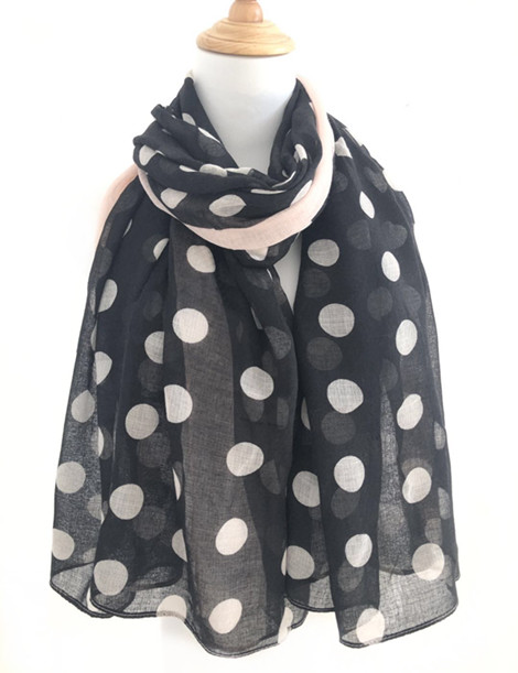 Christmas Style Printed Custom Women spring Long Shawl Polyester women scarf shawl