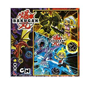 Bakugan Julie and Marucho 100 Piece Puzzle