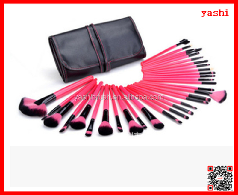 YASH the newest professional and affordable 32pcs makeup brush set