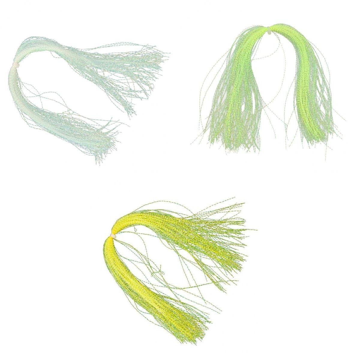 110Pcs//Bag Crystal Flash Line for Fly Tying and Rig Making