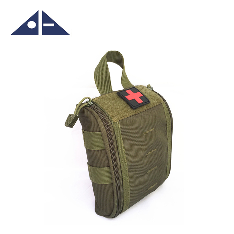 Tactical Nylon MOLLE Rip-Away EMT Medical First Aid Utility Pouch Bag