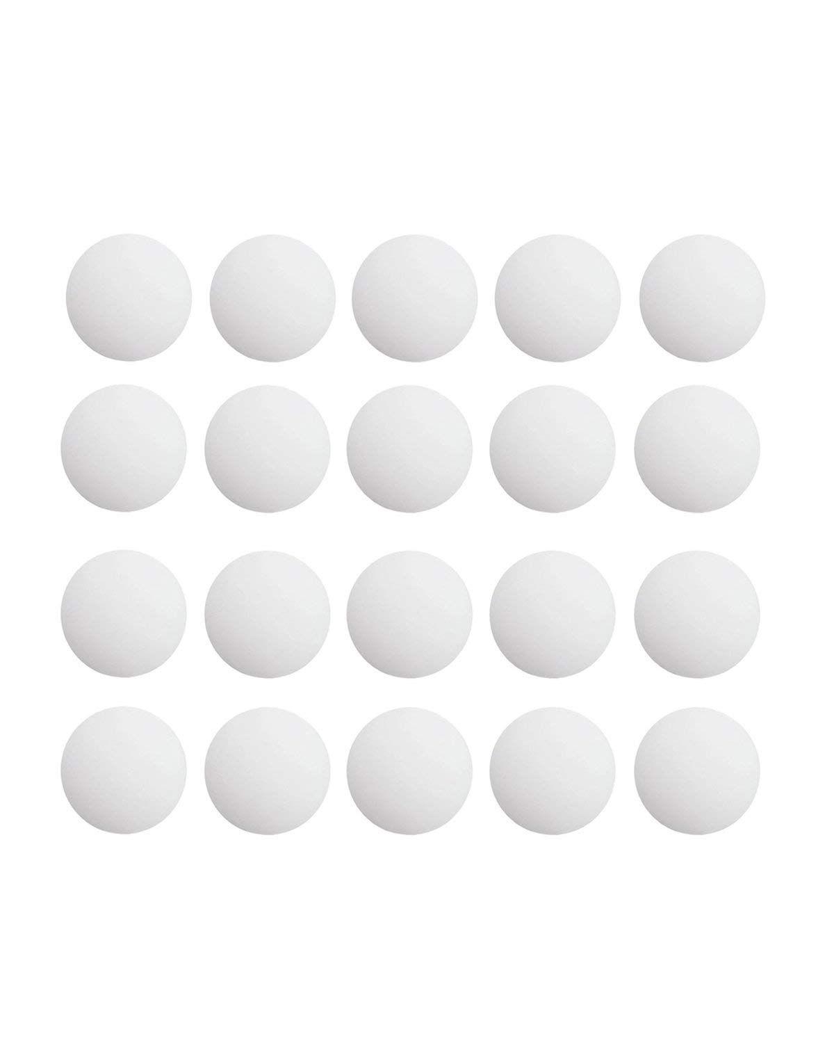 20 PCS Goft Design Door Stopper 1.57 Inch Bumper Silicone Wall Protector Guard with Self Adhesive 3M Sticker White