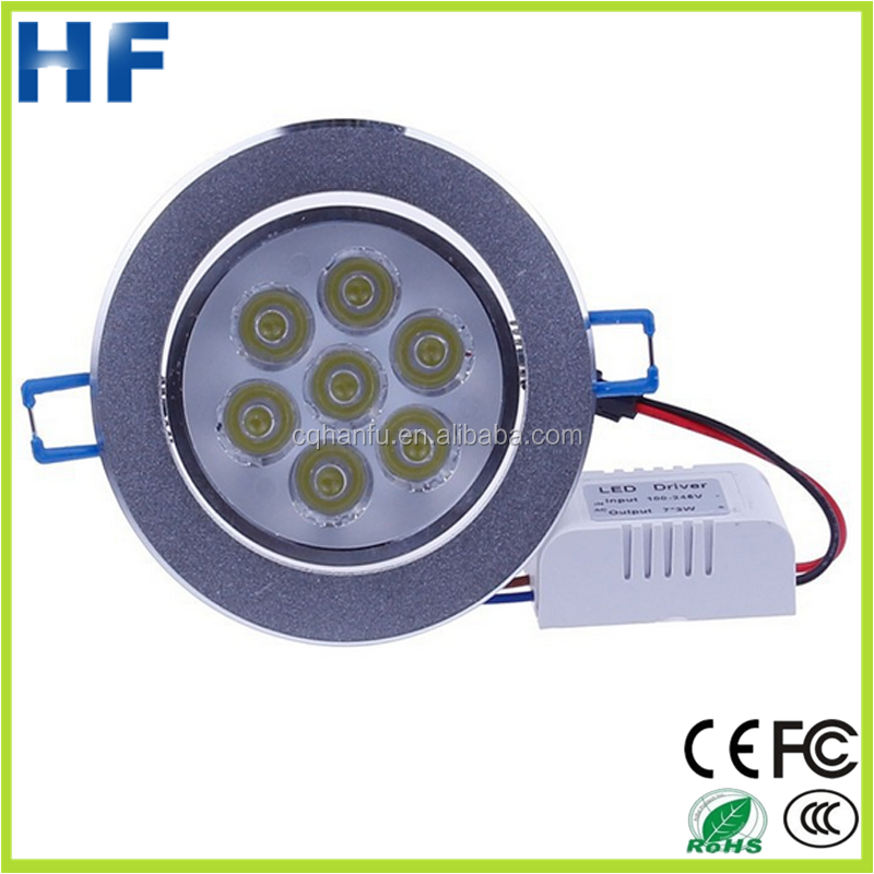 2015 Chinese manufacturer Epistar super brightness 21W led downlight