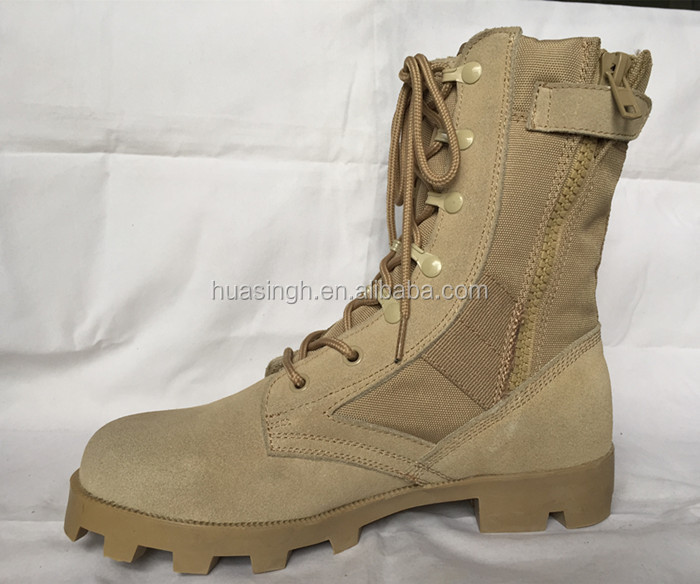 Military Strategy Equipment Breathable Altama Combat Desert Boots ...