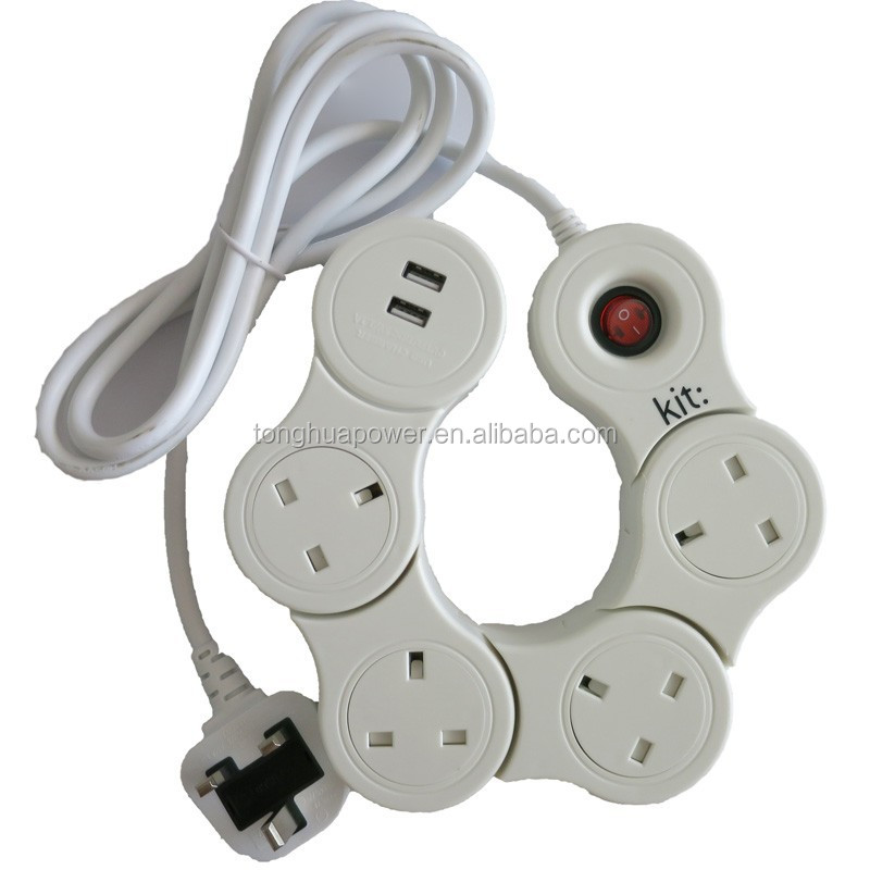 Directly. extension cords power strip join
