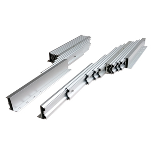 aluminum telescoping folding table slide rail (extension table mechanism)