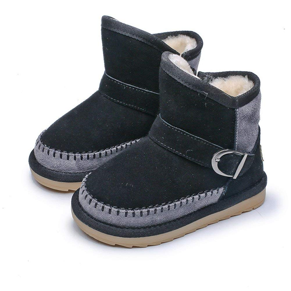CYBLING Girls Boys Winter Warm Soft Cute Fashion Snow Boots Anti-Slip (Toddler/Little Kid)