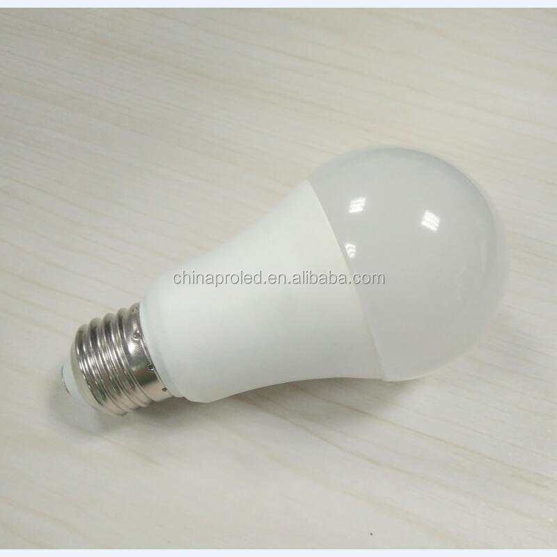 A16 A60 E27 12w led globe lamp bulbs with high lumen 110lm/w