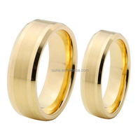 wholesale jewelry wedding rings gold 18k band pairs tungsten ring