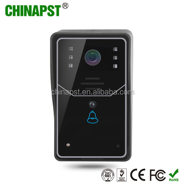 2018 new H. 264 720p Remote Unlock Smart Home Security System TCP/IP wifi ip video door bell intercom PST-WIFI001A