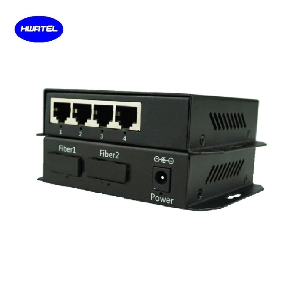 Low Cost 6 Port Poe Switch Hub 2 Fiber For Unifi Ubnt Mikrotik Alhua  Mikrotik Ap Router Dahua Xiongmai Ip Cctv Digital Camera - Buy 4 Port Poe