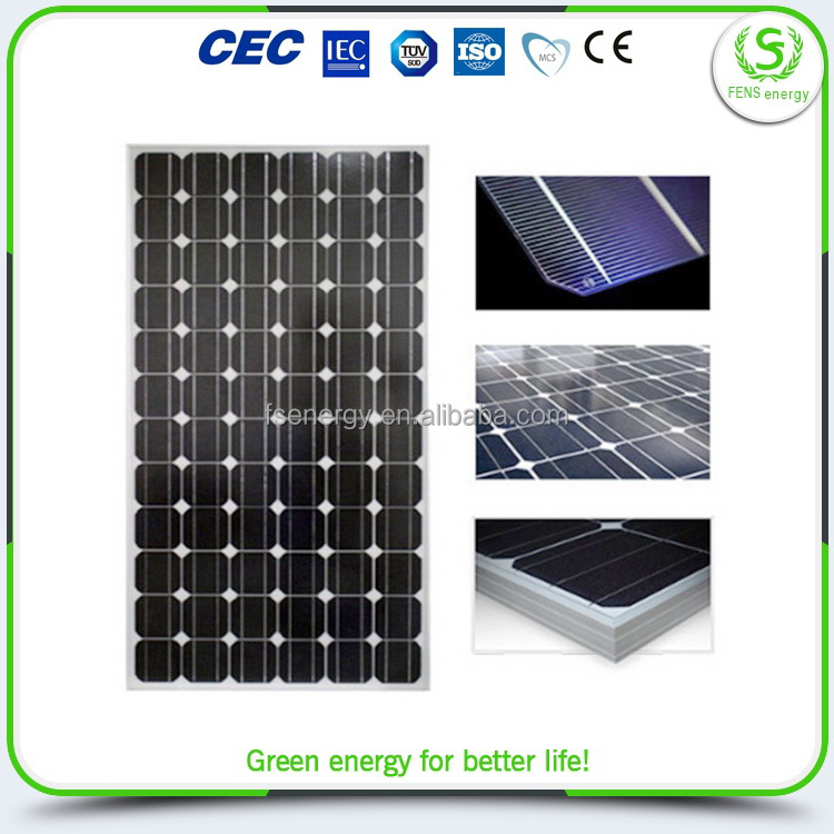 Alibaba china import grade commercial application 250w solar panel