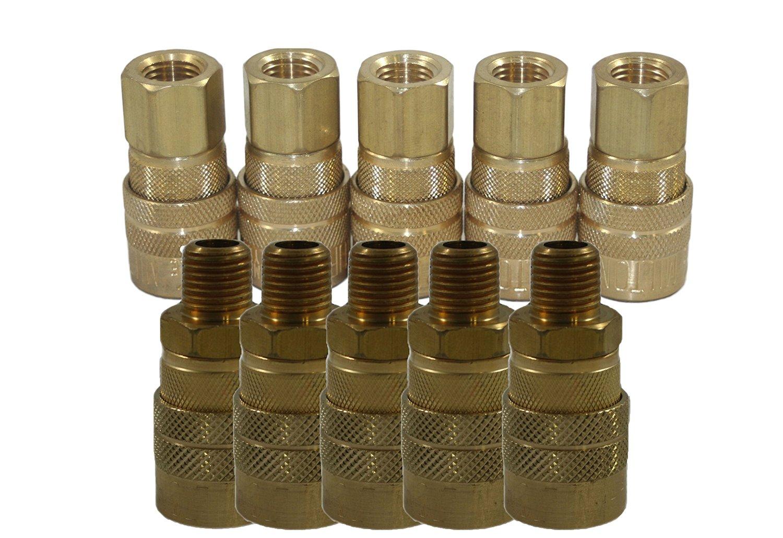 Milton 715 and 716-10 Piece M-Style Coupler Kit--Milton 715-[5], 716-[5]