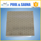 swimming pool stainless steel square shape bubble jet spurt plate with large small holes