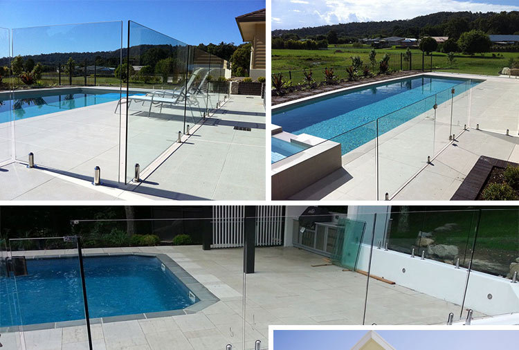 Glass Fence With Metal Post Swimming Pool Parapet - Buy Pool Fence With  Glass Spigot,Pool Fenceing,Pool Fences Brisbane Product on Alibaba.com