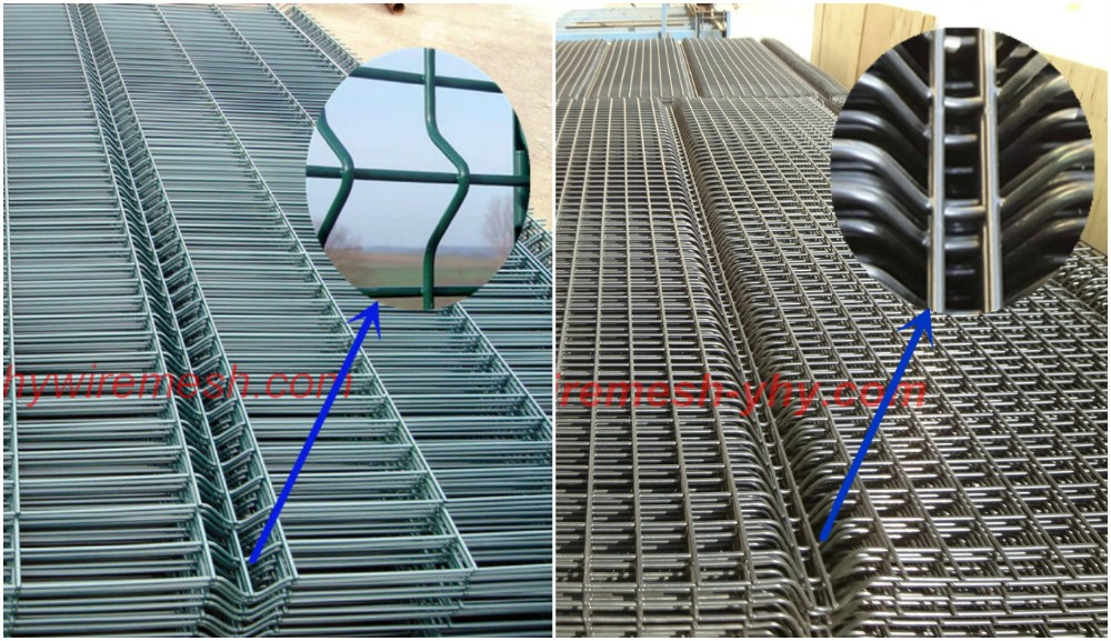 embossing wire mesh fence