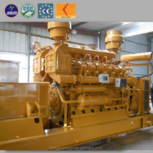 Standard assembly complete system 1000kw methane natural gas generator 1 MW