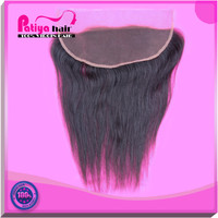 Patiya company sell 13x4 lace frontal closure silky straight ear to ear 130% lace front closure with baby hair