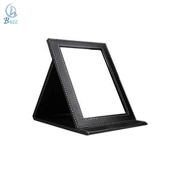 Cheap Square Foldable One Side Pu Leather Standing Table Mirror Buy Cheap Table Mirrors Standing Table Mirror Stand Up Table Mirrors Product On Alibaba Com