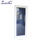 Aluminium glass shutter professional glass louvre window with aluminum profile frame