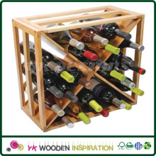 Wooden wine rack design plans