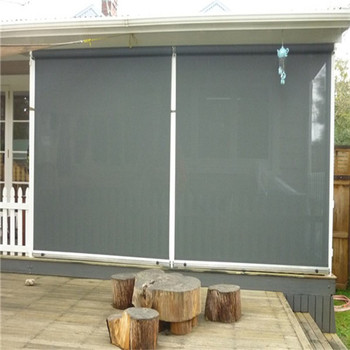 Outdoor Clear Roller Blinds Waterproof And Sunscreen Buy Outdoor