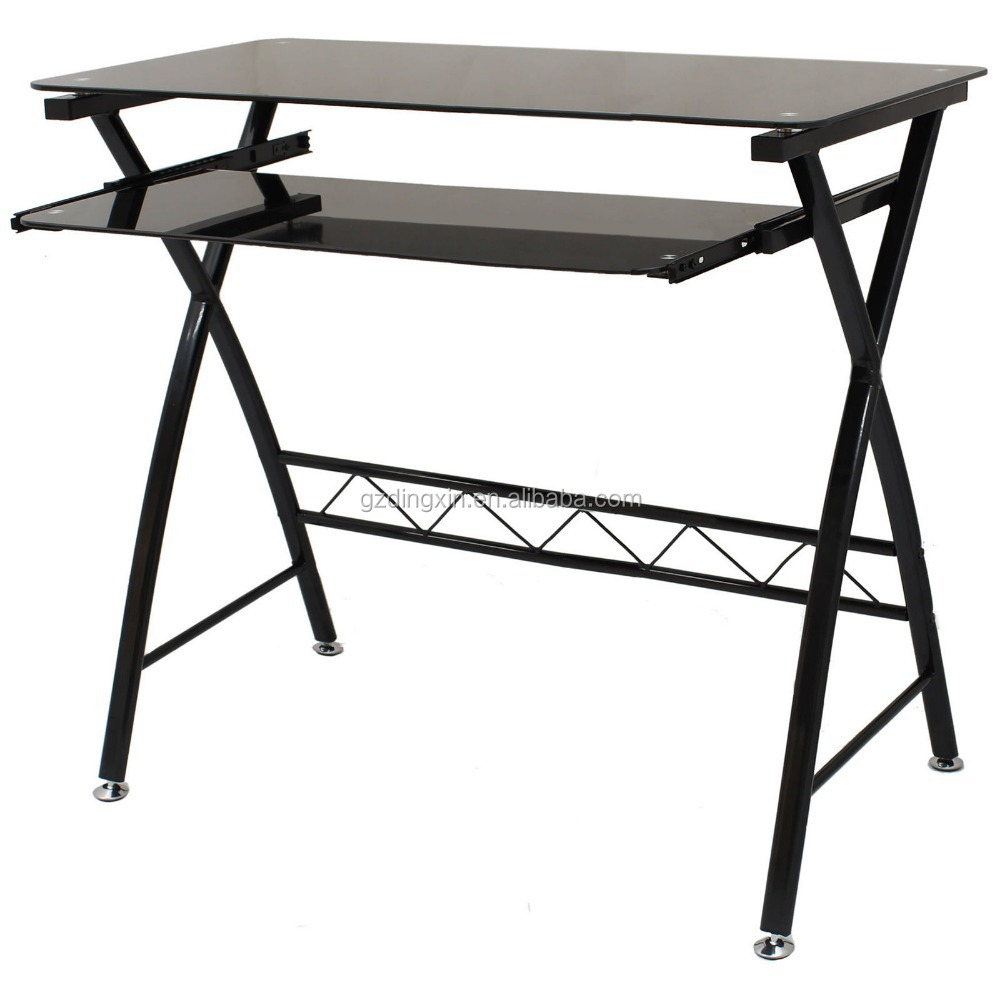 modern simpe style computer desk PC laptop study table workstation for home office