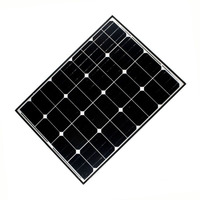 2017 High quality 90W mono photovoltaic solar panel in energy cheap price