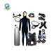 Underwater unisex scuba flexible package diving equipment