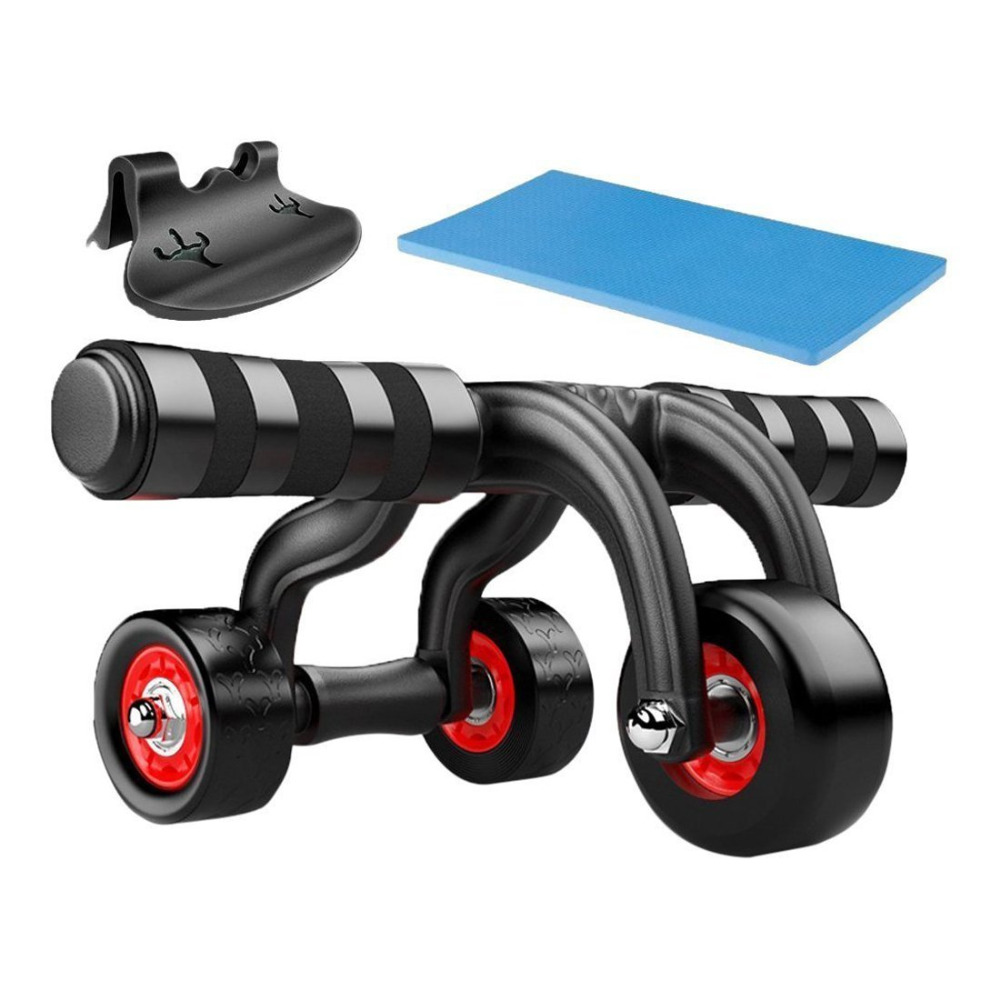 Ab wiel roller carving systeem voor Core Exerciser Fitness Training Toning Back & Armen Oefening