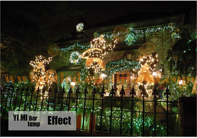 1 Holiday Decoration Christmas Festival Light String Wedding Light ...