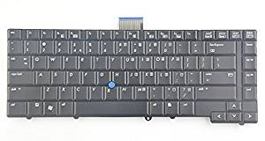 Eathtek New Laptop Keyboard with Pointer for HP Compaq Elitebook 6930p 468778-001 NSK-H4K01 series Black US Layout