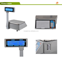 Digital weighting scale module for fresh market/Thermal Label Balance Scale