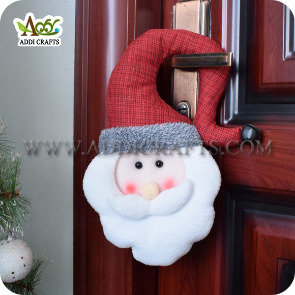 Ebay Alternative Santa Claus Door Hanger Xmas Door Hangers with Bells