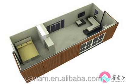 Low cost flat pack modern fast house building