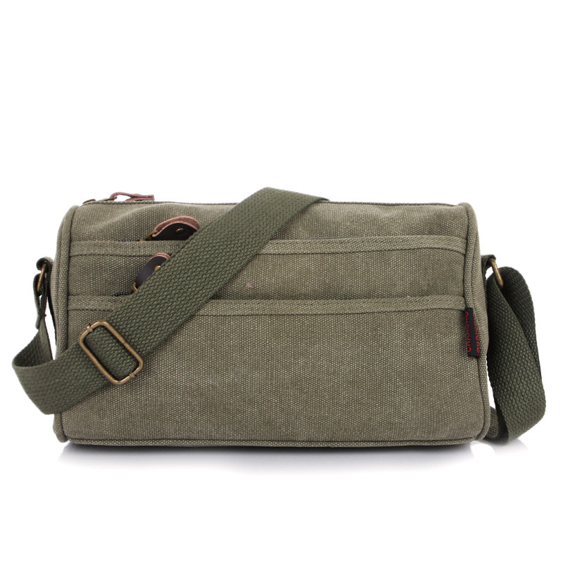 06053731e270 Get Quotations · Free shipping 2015 The new small Men s shoulder bag  Outdoor fashion khaki canvas Messenger bag upscale