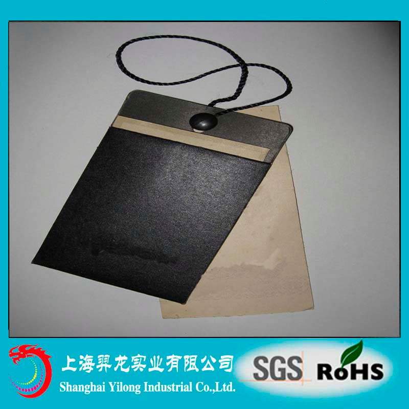 Plastic Material Hang Tag For Poncho