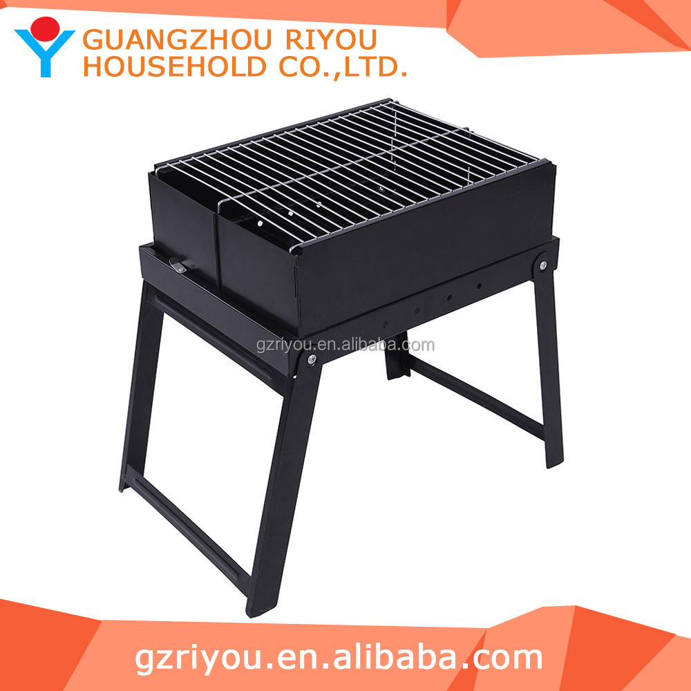Riyou Supply High grade indoor height adjustable charcoal bbq grill