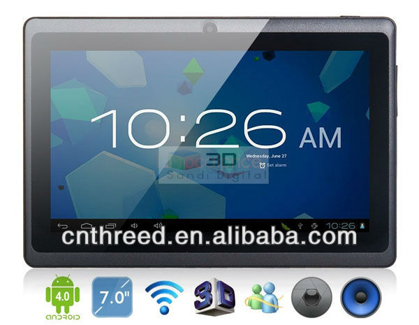 tab pc 7 inch tablet pc allwinner a13 android4.0 android4.2 mini pc mid q88