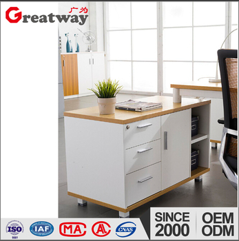 Buy Furniture From China Online Wooden Customized Drawer Map Cabinet White  Table Office Equipment